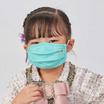 หน้ากากผ้า รุ่นเซฟการ์ด (แอนตี้ไวรัส&แอนตี้แบคทีเรีย) สไตล์ยุโรป (เด็ก 6-10 ปี)- สีเขียวอมฟ้า