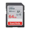 Sandisk SD Card Ultra SDXC UHS-I 64 GB