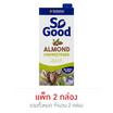 โซกู๊ด นมอัลมอนด์ UHT สูตรไม่เติมน้ำตาล 1 ลิตร