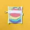 SchoolMaskPack Crayola เซ็ตหน้ากากผ้า ลาย Cool Colors (ขนาดเล็ก) 1แพ็ก5 ชิ้น