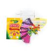 SchoolMaskPack Crayola เซ็ตหน้ากากผ้า ลาย Pinks and Purples Tip Faces (ขนาดเล็ก) 1แพ็ก5 ชิ้น