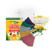 SchoolMaskPack Crayola เซ็ตหน้ากากผ้า ลาย Super Stripes! (ขนาดมาตรฐาน) 1แพ็ก5 ชิ้น
