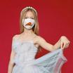 SchoolMaskPack เซ็ตหน้ากากผ้า ลายการ์ตูนคริสต์มาส 3 มิติ (ขนาดมาตรฐาน) 1 แพ็ก 5 ชิ้น