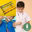 SchoolMaskPack เซ็ตสายคล้องหน้ากาก สี Smart Colors 1แพ็ก5 ชิ้น