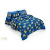 ผ้าปูที่นอน Fountain ขนาด 6 ฟุต ลายมินเนี่ยน รุ่น FTC006