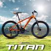 Maximus จักรยานเสือภูเขา รุ่น Titan 21 สปีด ล้อ 24 นิ้ว RD/BK