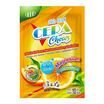 FIT ซีร่า ชิวส์ ผลิตภัณฑ์เสริมอาหารวิตามินรวมและแร่ธาตุ ชนิดเม็ดเคี้ยว กลิ่นส้ม บรรจุ 10 ซอง (10 เม็ด/ซอง)