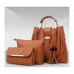 Fancybag กระเป๋าสะพาย SET 3 ใบ สีน้ำตาล