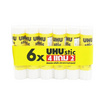 UHU Glue Stick กาวแท่ง 8.2 กรัม (แพ็ค6แท่ง)