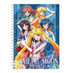สมุดสันห่วง A5 Sailor Moon Crystal คละลาย (แพ็ก 4 เล่ม)
