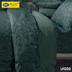 Satin Plus Luckyme ชุดผ้าปูที่นอน 3.5 ฟุต 3 ชิ้น ลาย LK020