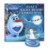 Disney Frozen Book and Glitter Globe