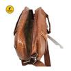 Coni Cocci กระเป๋าเดินทาง กระเป๋าถือ ขนาด 13 นิ้ว ลายจระเข้ สีแทน