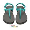 CHO-I-CE Slingback รองเท้าแตะรัดส้น รุ่น SB GRGP