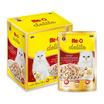 มีโอดีไลท์อาหารแมวรสปลาทูน่าและน่องไก่ฉีกในเยลลี่ 70กรัม (1 แพ็ก 12 ซอง)