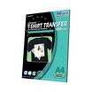 Hi-jet กระดาษทรานเฟอร์ สำหรับผ้าสีเข้ม Inkjet Platinum Transfer Paper for Dark-colored Textile 120 แกรม A4 (5 แผ่น)