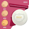 MILLE แป้งผสมรองพื้น Super Whitening Gold Rose Pact SPF48 PA+++ 11 กรัม #02 Natural