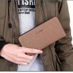 OSAKA รุ่น TK09 สีน้ำตาลเข้ม กระเป๋าสตางค์ ผ้าCANVAS