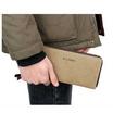 OSAKA รุ่น TK09 -สีน้ำตาลอ่อน กระเป๋าสตางค์ผ้าCANVAS