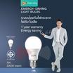 RANDY LED 7 วัตต์ ไนท์เซ็นเซอร์ แสงขาว 3แถม1