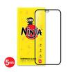 Ninja ฟิล์มกระจก Iphone 12 Pro Max  Full แพ็ค 5 ชิ้น