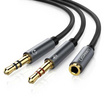 Ugreen รุ่น 20899 สายแจ๊ค 3.5mm Female to 2 male audio cable