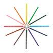 BIC Kids (1แถม1) ดินสอสีไม้ Evolution 12 สี