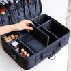 Babarah Shop กระเป๋าเครื่องสำอางแบบพกพาสีดำ