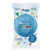 Huga ผ้าเช็ดทำความสะอาดจากน้ำแร่ธรรมชาติ 22 แผ่น (แพ็ก 3 ห่อ)