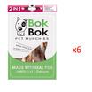 Bok Bok เซ็ตเนื้อพันกระดูก 150 กรัม (6 ถุง)