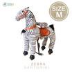 Rockingkidsม้าโยกล้อเลื่อนขี่ได้เหมือนจริง size M รุ่น SM03 - สีม้าลาย