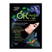 OK Herbal Color Care Shampoo Black 30ml Pack6