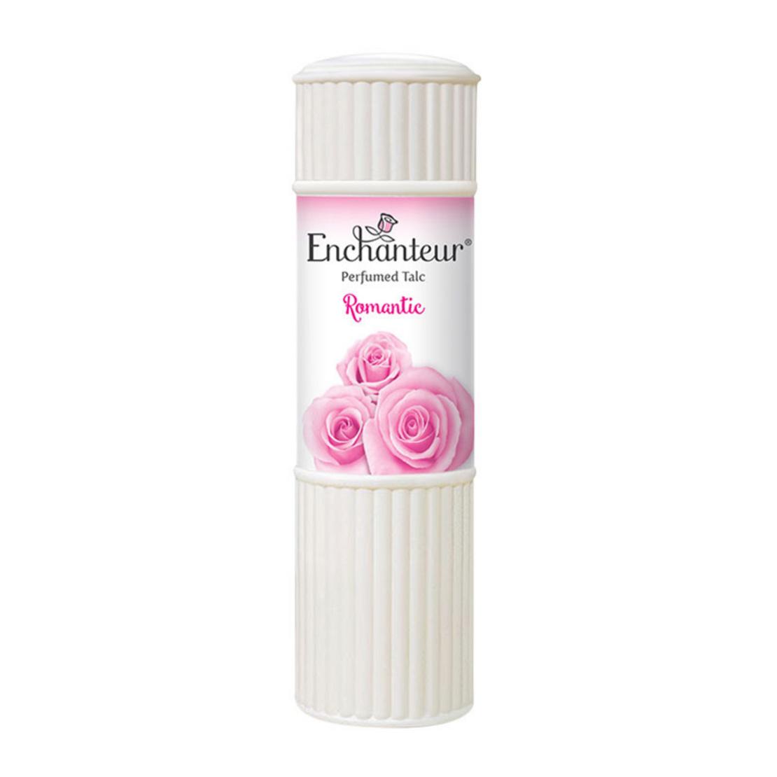 Enchanteur Perfumed Talc Romantic 100 G Eau De Cologne 120 Ml
